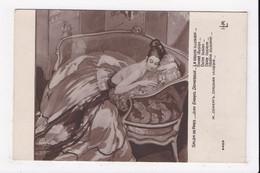 CP SALON DE PARIS DOMERGUE La Douce Illusion  ((femme) - Paintings
