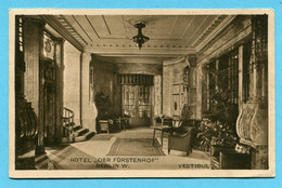 "Berlin Hotel ""Der Fürstenhof"" 1909 - Vestibul - Unclassified"