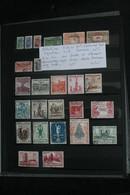 COLLECTIONS CHILI 210.COLOMBIE 260 T . EQUATUR 30 T ET HONDURAS 10 T SUR FEULLES DE CLASSEUR - Collections, Lots & Séries