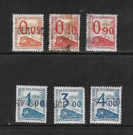 FRANCE 1960 COLIS POSTAUX  YVERT N°31/32-40/41-43/44 OBLITERE - Usados