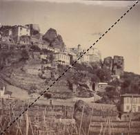 1898 Photo Roquebrune Alpes Maritimes - Places