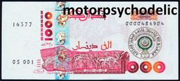 Algeria / P-143 / 2005 / Commemorative / 1000 Dinars / AUNC - Algérie