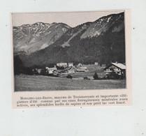Morgins Les Bains Mayens De Troistorrents Villégiature Eaux Ferrugineuses Minérales  Circa 1910 - Non Classificati