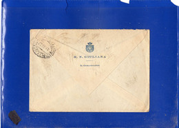 ##(DAN2101)-Italia 1927 -Busta Intestata Regia Nave Giuliana Da Gaeta Per Livorno - Marcophilia