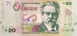 Uruguay 20 Pesos Uruguayos, P-93a (2015) - UNC - Uruguay
