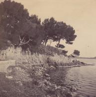 1898 Photo Villefranche Sur Mer Crique Alpes Maritimes - Places