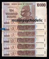 Zimbabwe / P-72 / 2008 / 10.000 Dollars / VF Condition - Zimbabwe