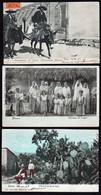 MEXIQUE: Magnifique Lot De 5 Cartes Obl. 1904/1909. Gros Plans. TB - Mexique