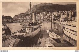 MONACO  MONTE CARLO  Le Port Et La Condamine ( Superbe Yacht ) - Monte-Carlo