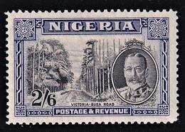 NIGERIA 1936  2/6 VIOLET SG 42 MLH  STAMP SUPERB - Nigeria (...-1960)