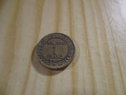 France - 1 Franc Chambres De Commerce 1927.N°1655. - H. 1 Franc