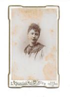 1889 MONTPELLIER - MARIE GUIBAL NEE EN 1868 - CDV PHOTO SOLLELLIAND - Oud (voor 1900)