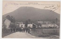Saulcy Sur Meurthe Le Centre Du Hameau D'anozel Animé - Otros Municipios