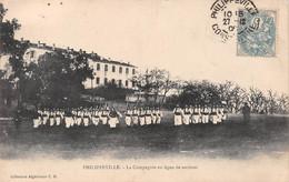 Algérie - PHILIPPEVILLE (Skikda) - La Compagnie En Ligne De Sections - Skikda (Philippeville)
