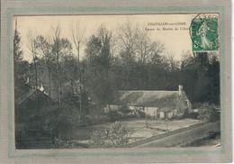 CPA - (45) CHATILLON-sur-LOIRE - Aspect Du Moulin De L'Aval En 1909 - Chatillon Sur Loire