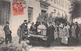 Algérie - PHILIPPEVILLE (Skikda) - Porte De L'Hôpital Militaire - Brancardiers, Médecins - Skikda (Philippeville)