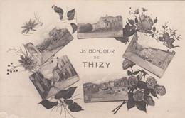 69 - UN BONJOUR DE THIZY - RHONE - VOIR SCANS - Thizy