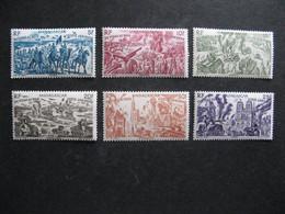 MADAGASCAR: TB Série  PA N° 66 Au PA N° 71, Neufs X. - Posta Aerea