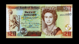 # # # Banknoten Belize (Belize) 20 Dollars 2010 UNC # # # - Belize