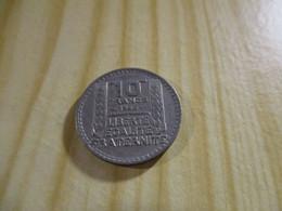 France - 10 Francs Turin 1945,grosse Tête,rameaux Longs.N°1663. - K. 10 Franchi