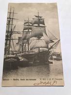 Ostende - Navire, école Des Mousses - J P B N 601 - Oostende