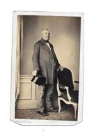 MONSIEUR FAYE - CDV PHOTO FRANCK PLACE DE LA BOURSE - Oud (voor 1900)