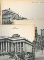 Paris Place Et Théâtre De L'Opéra Bourse Hotel De Ville Chatelets Concorde Grand Format Photo 29x23cm Très Animée Lot 8 - Reproductions