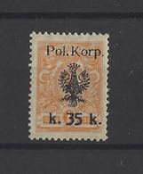 POLOGNE.  YT  Corps Polonais  N° 13  Neuf *   1918 - Andere