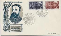 3579  FDC Guinea Española  Santa Isabel  1955  ,!º Centenario Del Explorador  Iradier - Guinea Spagnola