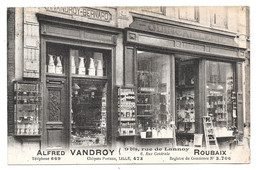 CPA 59 - ROUBAIX - QUINCAILLERIE ALFRED VANDROY - Rue De Lannoy - Roubaix