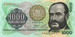 PEROU 1976 1000 Sol De Oro - P.116 Neuf UNC - Perù