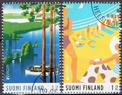 FINLAND #   FROM 2012 STAMPWORLD 2195-96 - Gebruikt