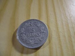 France - 5 Francs Lavrillier 1949 B Alu.N°1675. - J. 5 Franchi