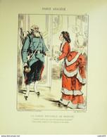 GARDE NATIONALE-LITHO Signée DRANER-PARIS ASSIEGE-1870 - Lithographies