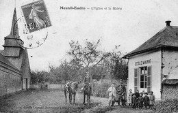 MESNIL-EIDIN -L'Eglise Et La Mairie - Altri Comuni