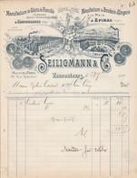FACTURE SEILIGMANN GILETS DE FLANELLE à VAUCOULEURS MEUSE 1909 - 1900 – 1949