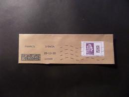 Fragment Enveloppe Marianne L'engagée - INTERNATIONAL -  YSEULT DIGAN YZ - 2018-... Marianne L'Engagée
