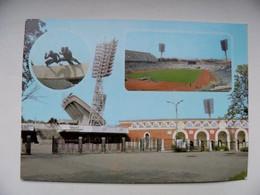 Postal Stationery Card Ussr 1986.04.01 Belarus Minsk Stadium Dinamo - 1980-91