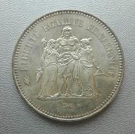 Francia, 50 Franchi 1977 Ercole Argento - France 50 Francs Argent Silver Paris Hercule [2] - M. 50 Franchi