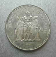 Francia, 50 Franchi 1977 Ercole Argento - France 50 Francs Argent Silver Paris Hercule [4] - M. 50 Franchi