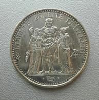 Francia, 10 Franchi 1965 Ercole Argento - France 10 Francs Argent Silver Paris Hercule [3] - K. 10 Franchi