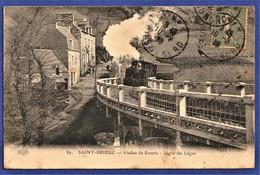 CPA 22 SAINT BRIEUC - Viaduc De Souzin - Ligne Du Légué - Saint-Brieuc