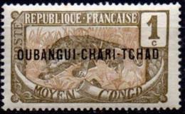 OUBANGUI - Panthère - Ongebruikt