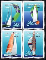 San Marino - 2001 - Yacht Regatta 24 Hours In San Marino - Mint Stamp Set - Ongebruikt