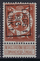 Lot Met Nr. 109 Voorafgestempeld Nr. 43 B ** MNH En In Zéér Goede Staat , Zie Ook Scan ! - Typos 1912-14 (Lion)