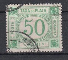 ROEMENIË - Michel - 1898/99 - Nr 23 - Gest/Obl/Us - Portomarken
