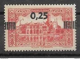 1938 ALGERIE 148** Alger, Surchargé - Neufs