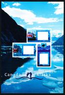 Canada (Scott No.1991C-D - Croisière En / Alaska / Cruise) [**] Left Panel Only / Paneau Gauche Seulement - Ungebraucht