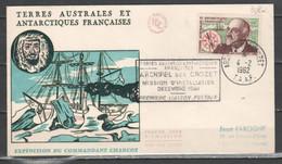 TAAF 1962 - Archipel De Crozet - Premier Liason Postale          (g7120) - Covers & Documents