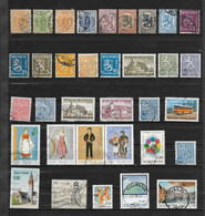 Lot De 34 Timbres Différents De Finlande - Emis De 1885 à 1991 - Ohne Zuordnung